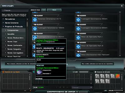 Taikodom - Component Blueprints