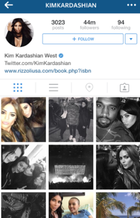Kim Kardashian Becomes the New Queen of Instagram, beats Beyonce - See other most popular celebrities