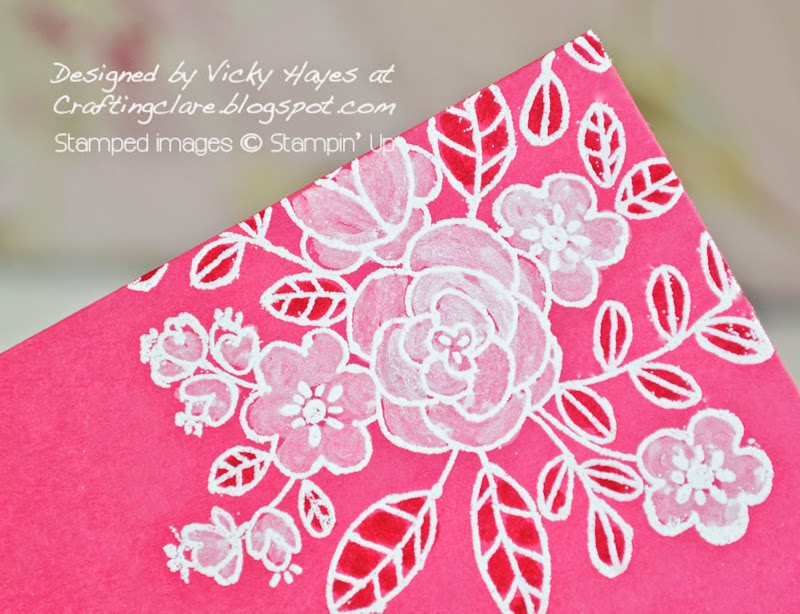 buy Stampin up embossing powder and markers online from Vicky at Crafting Clares paper moments
