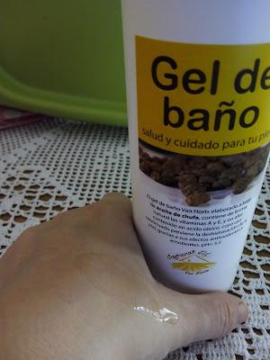 Gel de baño Cyperus-Oil