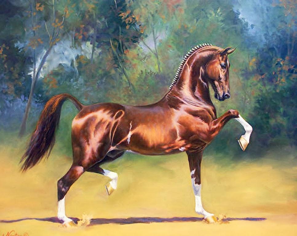 Cuadros pinturas oleos caballos pinturas al leo - Los cuadros mas bonitos ...