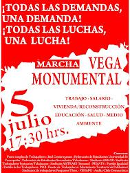Convocatoria a Marcha en Concepción
