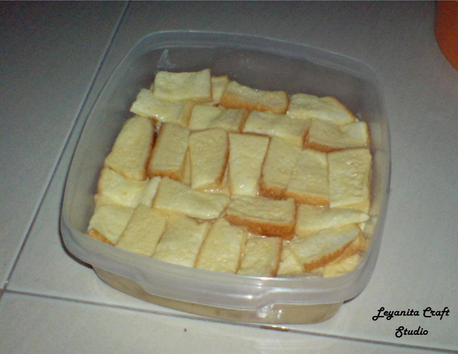 Resepi Puding Roti Mudah Dan Cepat
