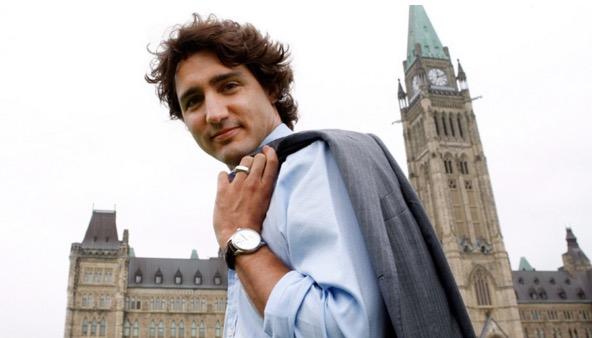 Perdana Menteri Kanada Termuda yang Kacak Bergaya