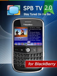 SPB TV 2.0 for BlackBerry released, available for free download