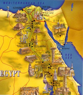 maps of egypt and israel. images lank maps of egypt