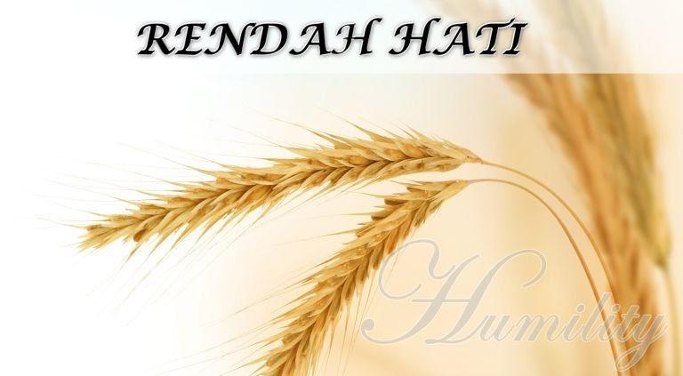 RENDAH HATI ~ Kata Motivasi