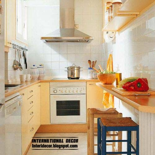 Small kitchen solutions 10 interesting solutions for for Kitchen designs for small kitchens