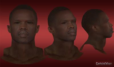 NBA 2K13 Luol Deng Cyberface Mod