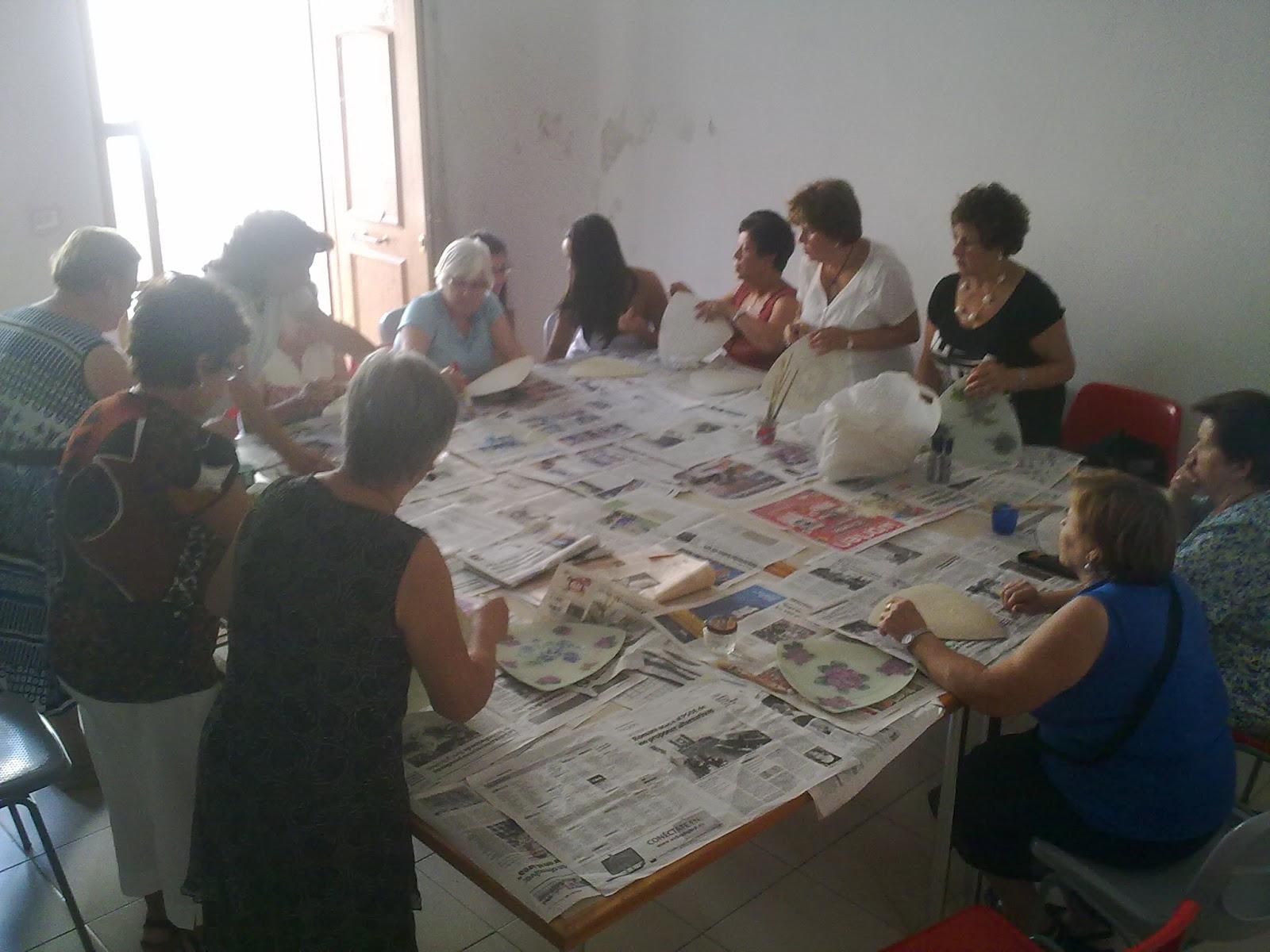 Asociaci n cultural pe a de la mora taller de - Manualidades originales para adultos ...