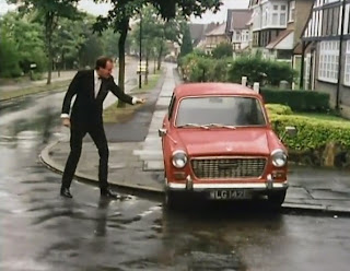 Basil Fawlty and the car