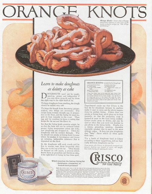 1920s recipe  orange knots