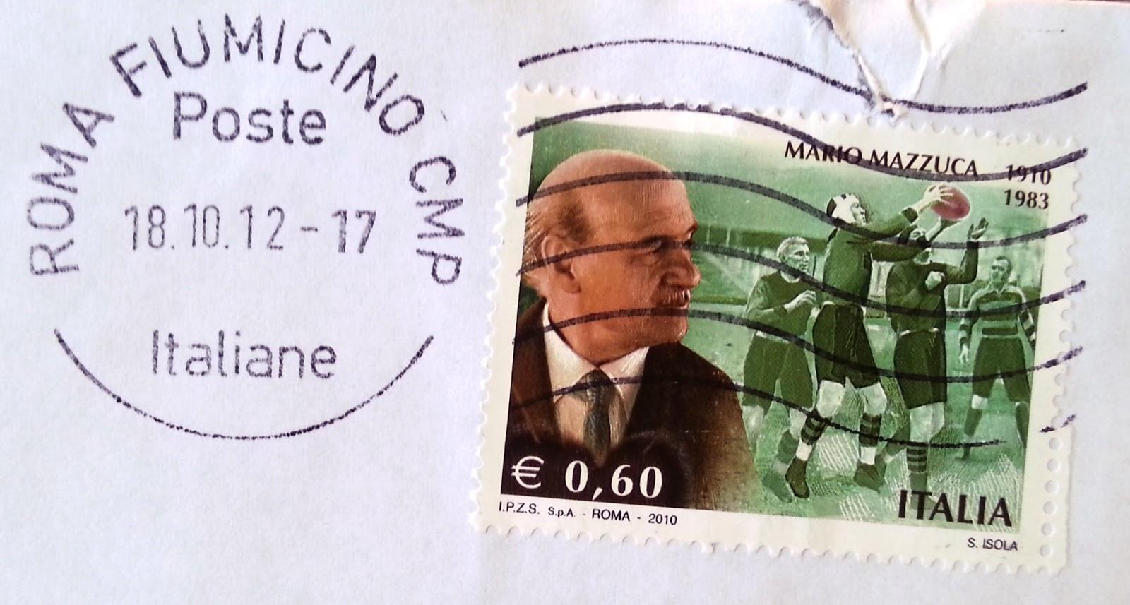 Mario Mazzuca francobollo