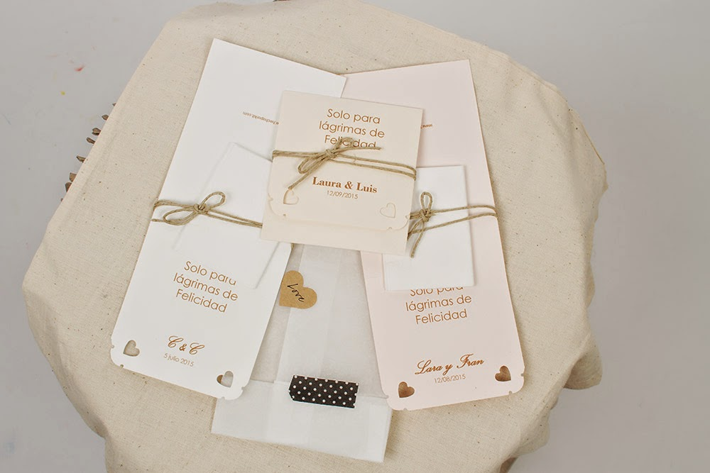 Hecho por kit Wedding Box caja regalo original para novias Mi Boda Rocks