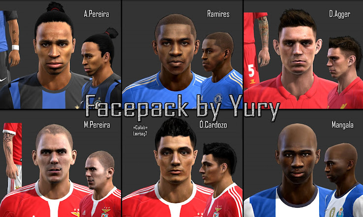 PES 2013 Facepack by Yury