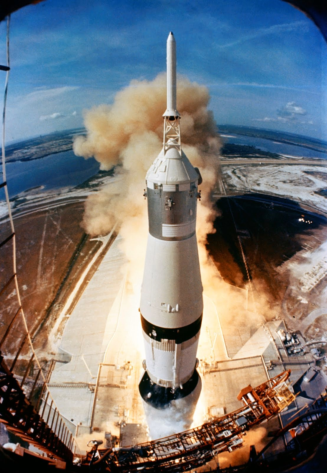 APOLLO 11 MOON MISSION BEGAN ON JULY 16, 1969