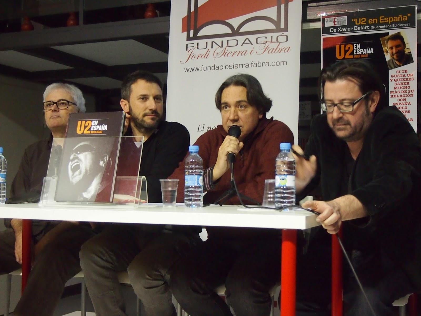 """Presentación del libro """"U2 en España"""""""