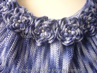bolsa feminina, croche, bolsa de croche, flores de croche, bolsa de flores, bolsa feminina