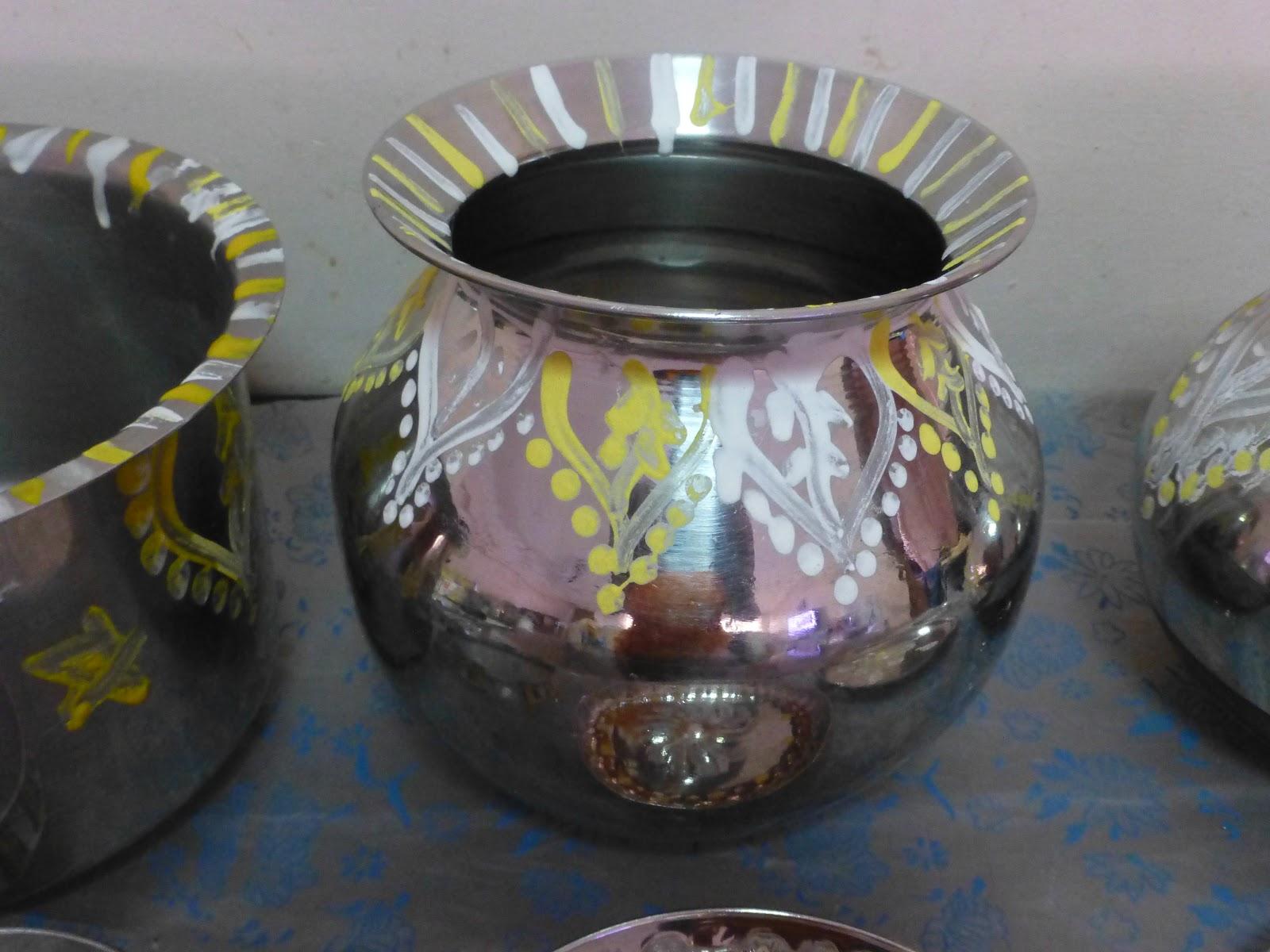 Pongal Pot design/Pongal panai kolam