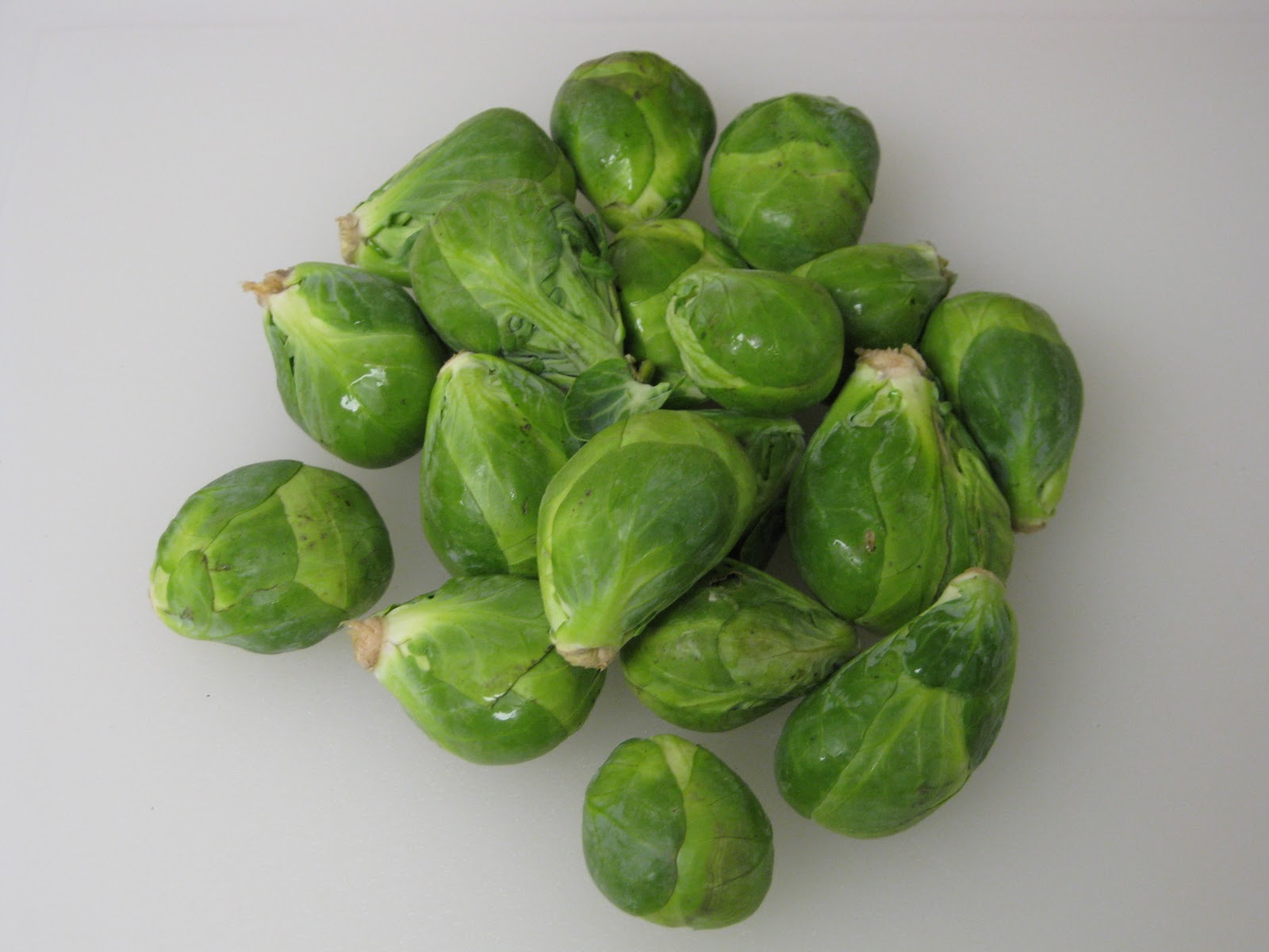, so I decided to try a play on the standard of Brussels sprouts ...