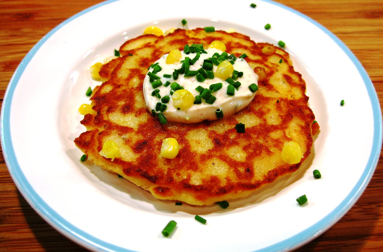 The Sensitive Epicure: Fresh Corn Fritters with Lime ...