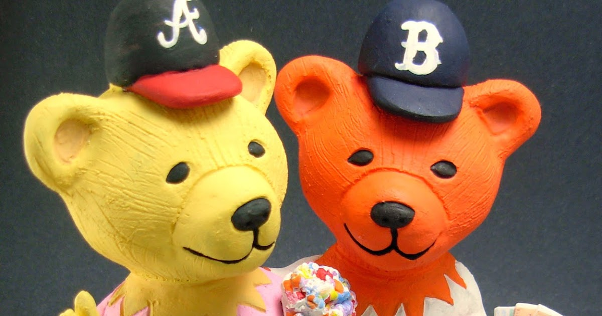 custom wedding cake toppers: Bears With Grateful Dead Tickets ...