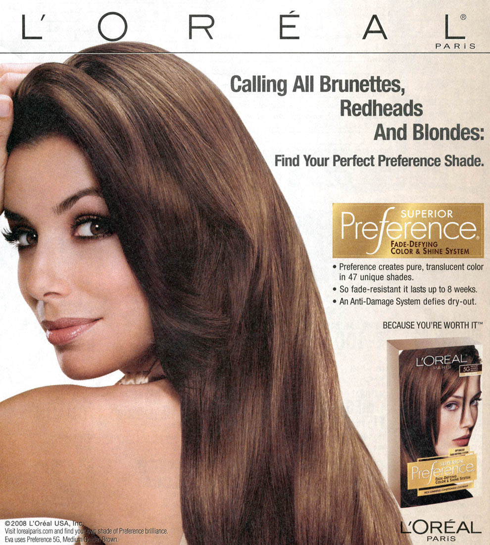 farbydo włosów: loreal preference dark brown