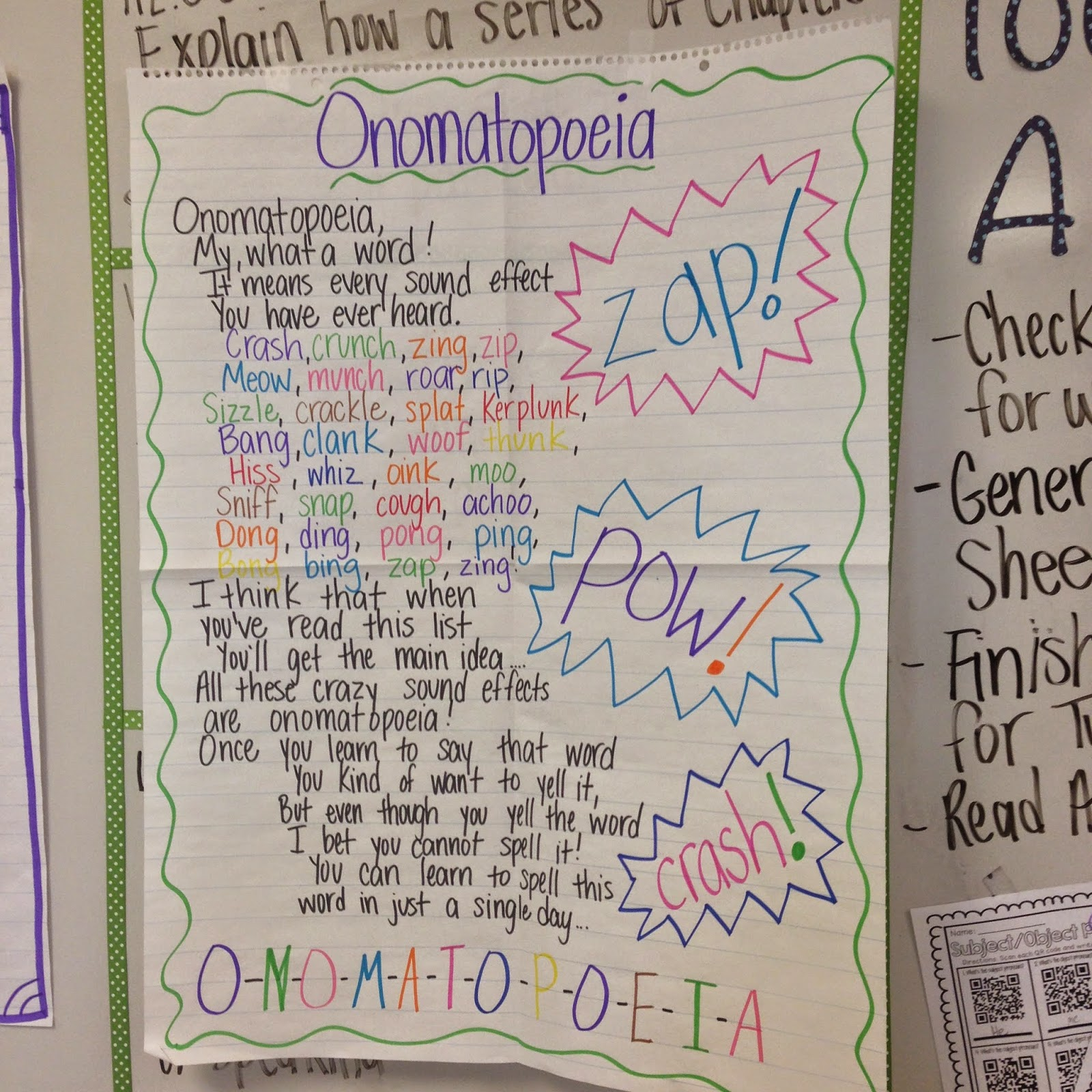 Onomatopoeia Poems About Love