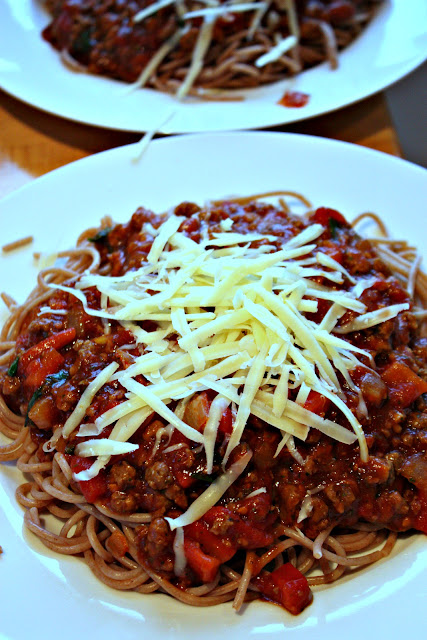 vegetarian spaghetti bolognese