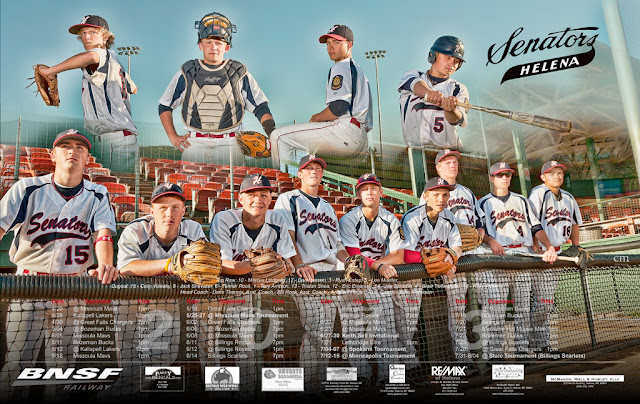 chris martin photography - baseball team poster
