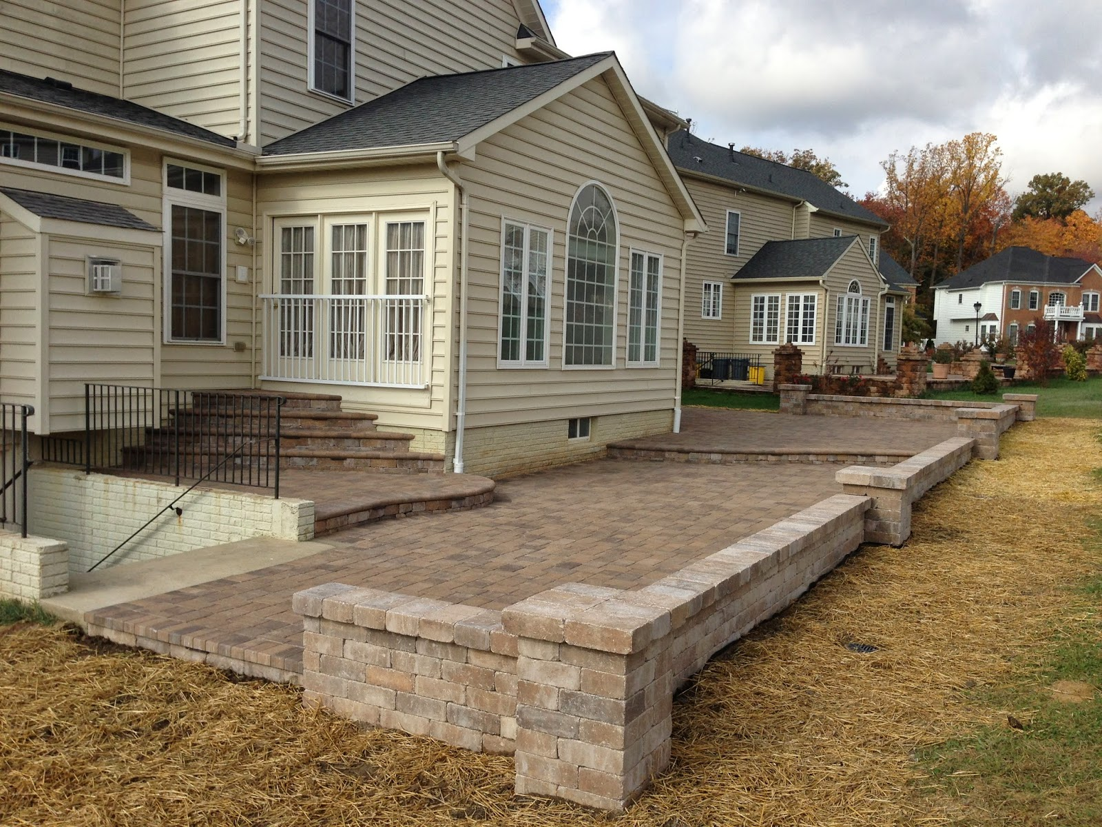 Custom Stoneworks Design Inc Big Multi Level Patio In