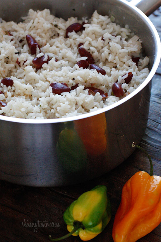 Jamaican Red Beans and Rice | Skinnytaste