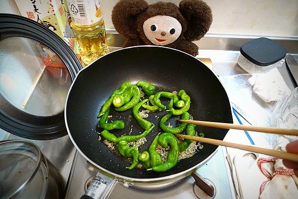 とうがらしの炊いたんの作り方(1)