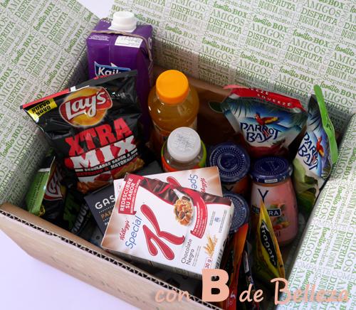 Julio caja Degusta box