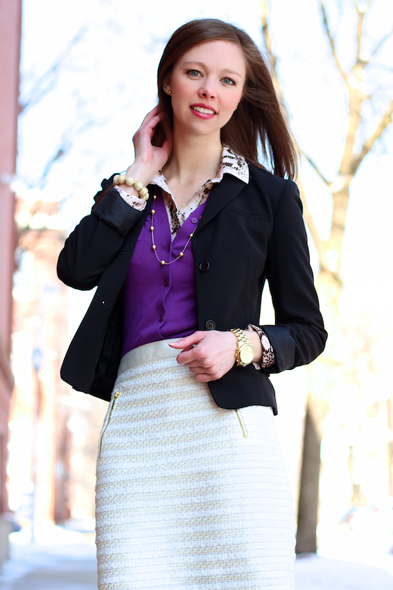 Purple, Snake, Cream | StyleSidebar