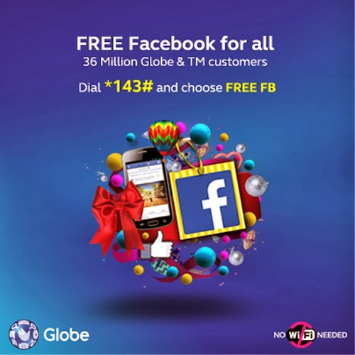 Globe Free Facebook for all