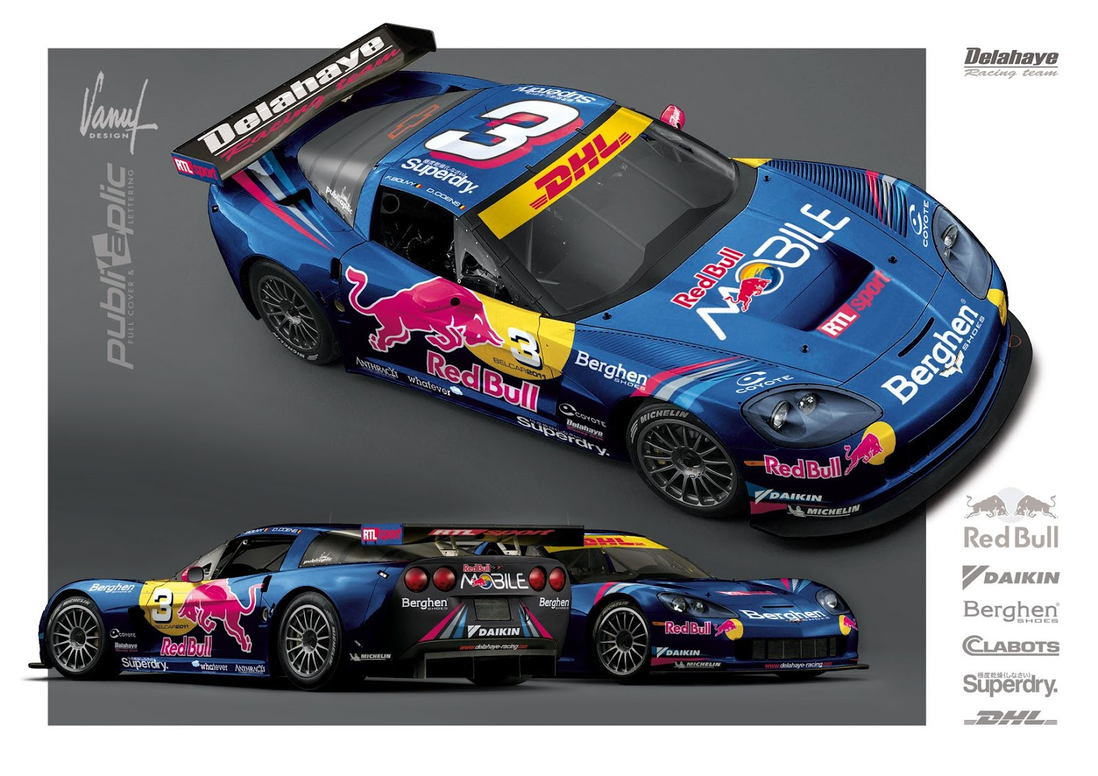 Corvette Z06 GT3 Evolution