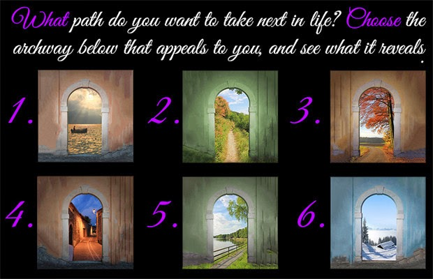 What Path Do you Want to Take Next in Life? Choose The Archway and See What it Reveals