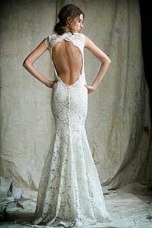 Vestidos de Novia con Escote en la Espalda, parte 1