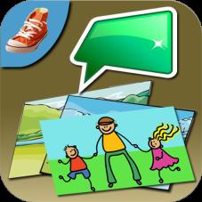 Talk n'Photo app