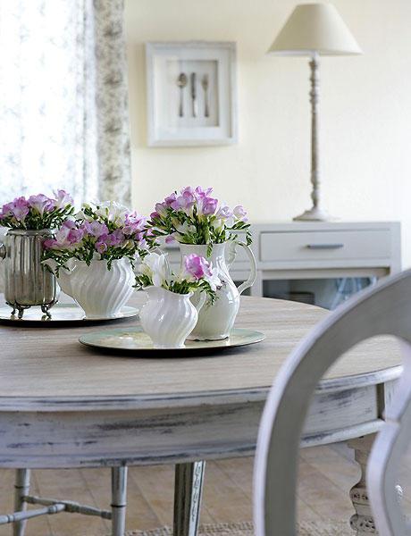 Decorar la mesa del comedor que dificil amor por la - Centros de mesa de comedor ...