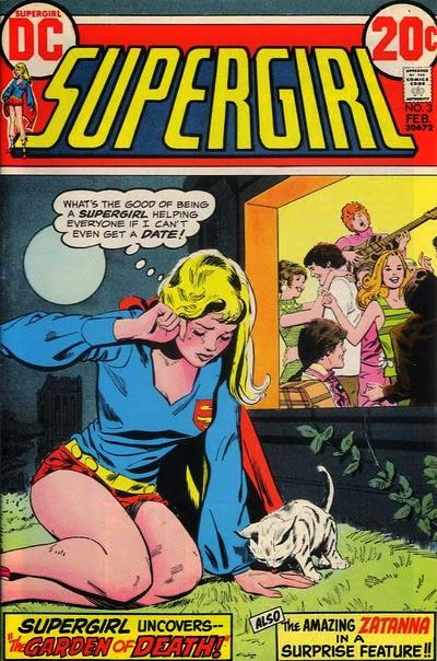 Supergirl #3, Dateless Supergirl