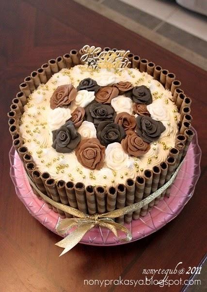 Nony Aska Daulika Blog Birthday Cake Mba Donna Shaker