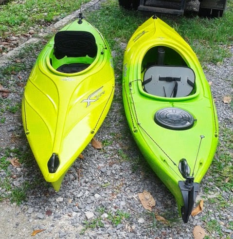 Kayaks for Khao Sok National Park