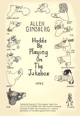 Allen Ginsberg, Cloudpine, Cloudpine451, Hadda Be Playing On The Jukebox, Poem, Political Poem, Satire, Social Commentary