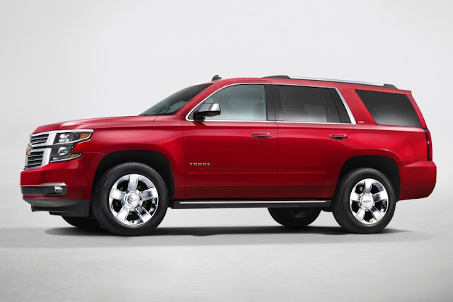 2015 Design Chevrolet Tahoe show side view