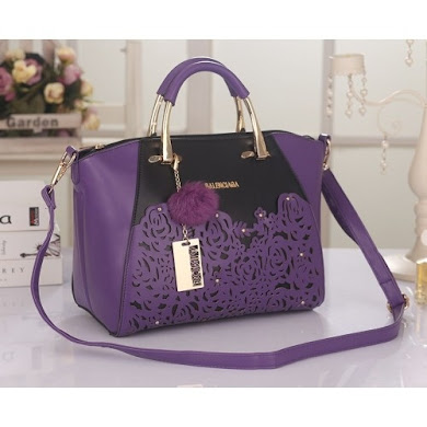 BALENCIAGA BAG – PURPLE