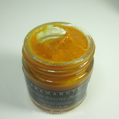 shamanuti pumpkin enzyme face mask natural skin care review