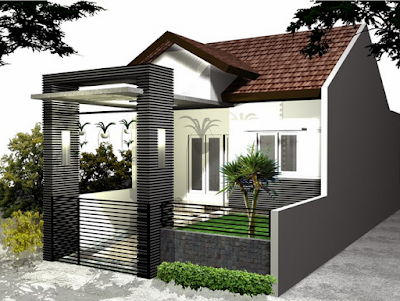 Contoh Pagar Rumah Minimalis Terbaru 2016 yang Indah Dipandang
