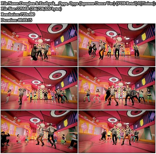 PV Donghae & Eunhyuk - Oppa Oppa (Japanese Dance Ver.) (VOB Retail)